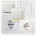Електромонтажни дейности - Монтаж на ключове и контакти.